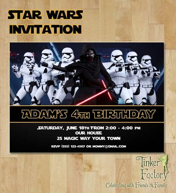 Star Wars The Force Awakens Kylo Ren Birthday By TinkerFactory