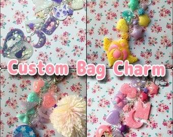 CUSTOM Bag Charm