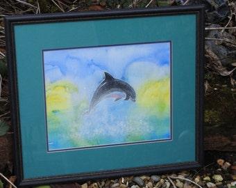 original painting Dolphin 1