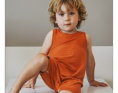 Romper, bamboo play clothes, SOLIDS collection, gender neutral, color options