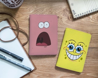 Yellowbob and PinkPat -  Couple - Passport holder - Couple passport holder - Travel gift - Passport - Passport cover| VIG-PPC-067-Perfcase