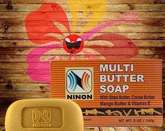 Soap Shea Butter Multi Butter Soap - 5oz bar