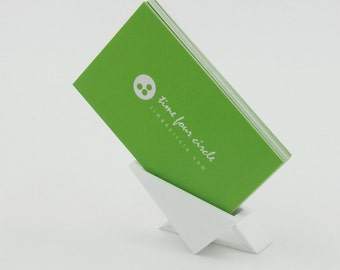 Business Card Holder,business card stand, Modern And Minimalistic Style.
