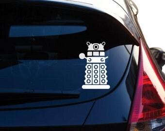 Doctor Who inspired Dalek Vinyl Decal Sticker # 461