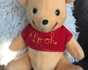 Vintage Disney Winnie the Pooh Stuffed Bear