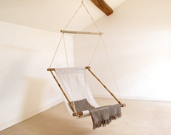 Hanging Chair, Swinging Chair, Garden Bar made of bamboo