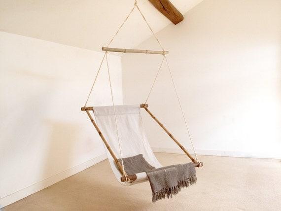 fauteuil relax suspendu en bambou balancelle ou. Black Bedroom Furniture Sets. Home Design Ideas