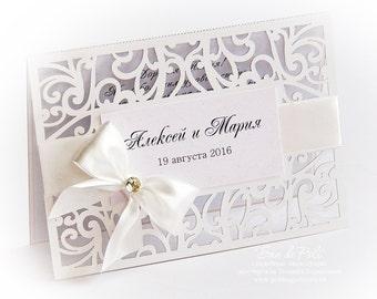"Flourish Scroll Wedding invitation Swirls Pattern Card 5x7"" Template (svg, dxf, ai, eps, pdf) lasercut Instant Download Silhouette Cameo"