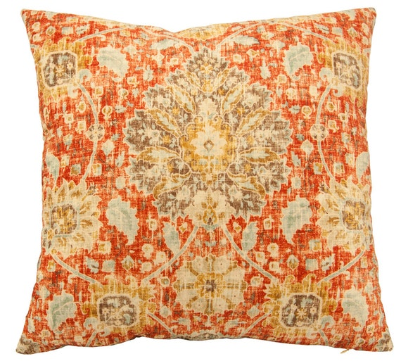 Large Persian Rug Floor Pillow Cover Tree Of Life Pillow 24