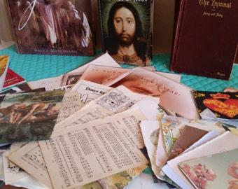50+ Piece Christian Ephemera Package
