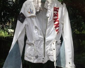 Vintage patched Metallica jacket