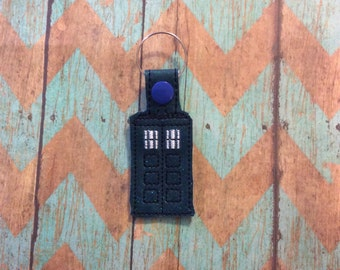 Dr Who full keychain