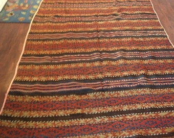 Vintage Afghan Kilim