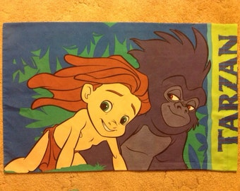 Tarzan Pillowcase