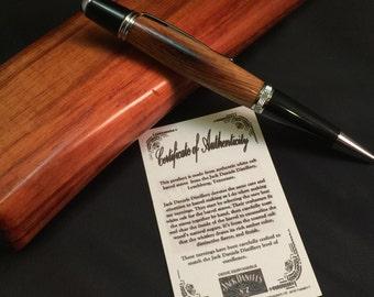 Jack Daniels barrel pen