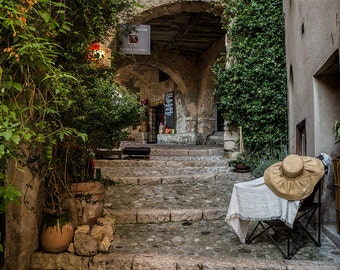 St Agnes, French Riviera, France Photography, Rural France, South of France Photography, Summer in France, Fine Art Print, French Village