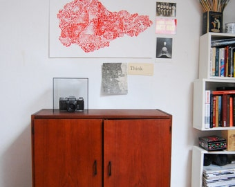 vintage cabinet from 60