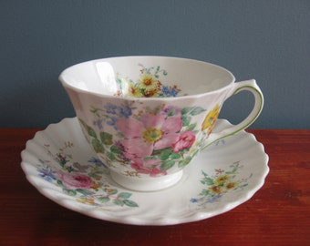 Vintage Royal Doulton Tea Cup And Saucer