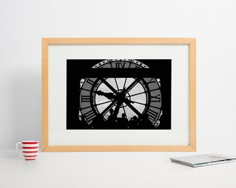 History of time in black and white