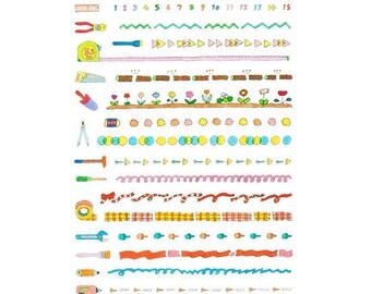 AIUEO Schedule pop seal/ Index.Schedule- Line 3 (SPS-17)