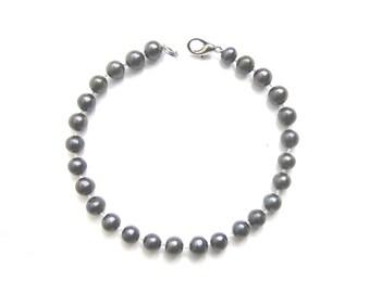 Black Freshwater Cultured Pearl Bracelet -br41
