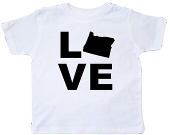 Love Oregon Toddler T-Shirt
