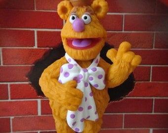 Disney The Muppets PVC Holiday and Christmas Ornament- Fozzie Bear