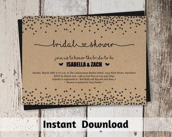 Wedding seating chart printable template rustic mason jar for Bridal shower seating chart template