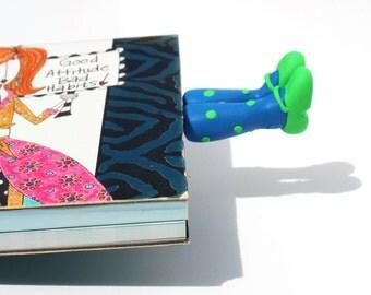 feet planner clip feet bookmark legs planner clip stationary supplies bookworm gift  filofax clip cute planner accessory teen girl gift