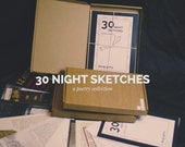 30 Night Sketches - A Poetry Collection by Doug Garry and Perry Jonsson