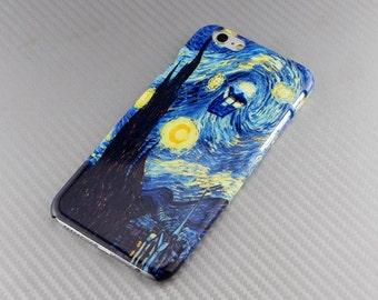 Tardis Doctor Who Starry Night iPhone case Doctor Who iPhone 6s case iPhone 6s Plus case Van Gogh iPhone 6s case iPhone 5 5s SE 6 6s case
