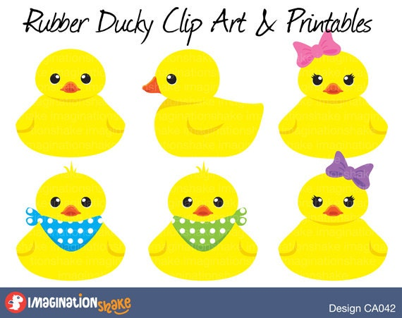Lucrative image with rubber ducky printable