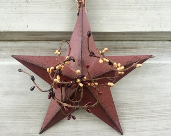 Barn Star-Americana Barn Star-Rustic Barn Star -Primitive Barn Star-Americana Decor-Primitive Decor-Free Shipping