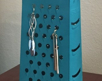 Vintage Grater Earring Display