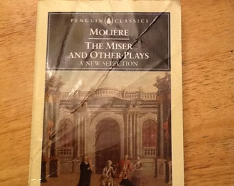 The Miser and Other Plays by Moliere Book