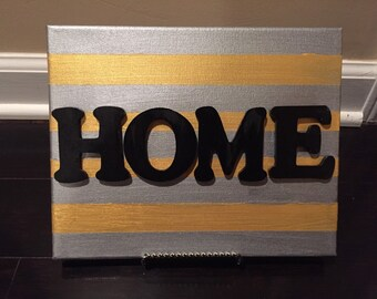 Home Canvas Art