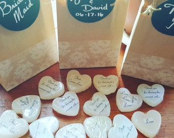 Heart Shaped Soap W/Love Quotes