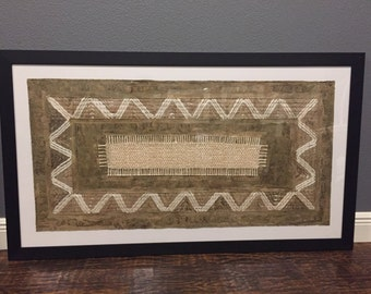 Mexican Handcrafted Bark Paper or Mexican Amate Paper (Frame not Included)