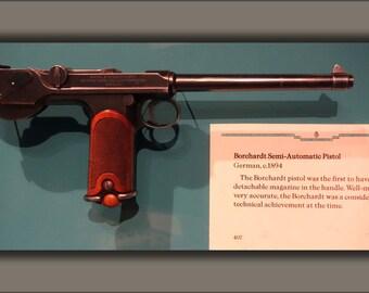 24x36 Poster . Borchardt Semi-Automatic Pistol, Germany, 1894