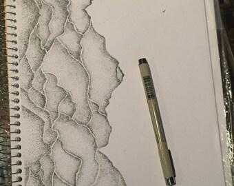 Custom Pen & Ink