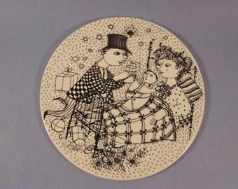 Nymolle Porcelain Denmark 'Mirakel' by Bjørn Wiinblad