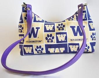 University Washington Small Hobo Bag