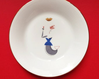 Siren - illustrated plate