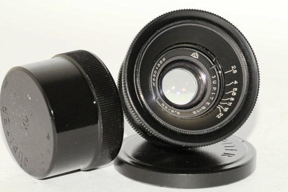 JUPITER-12 35 mm F/2.8 M39 RF Russian Biogon Lens Leica Zorki NEX N8301336