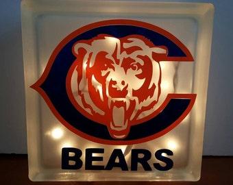 Chicago Bears Night Light