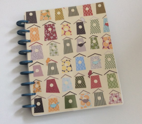Chirpy birdhouse happy planner cover mambi create 365 the for Happy planner accessories