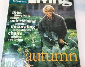 Martha Stewart Living Magazine October / November 1992