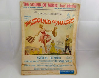 The Sound of Music Vocal Selection Music Book
