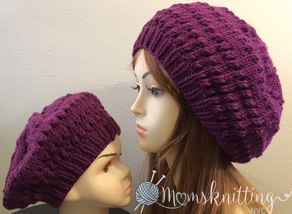 Hipster Hat Knitting Pattern : Hipster Beanie Easy Beanie Pattern Knit Hat Pattern Girl