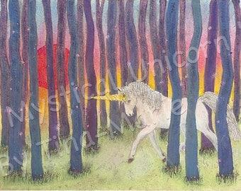 Mystical Unicorn - Original